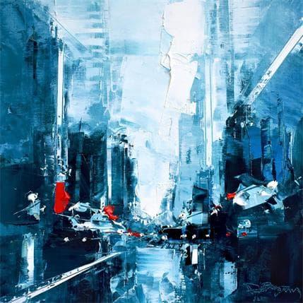 Daniel Castan Blue Manhattan 25 x 25 cm