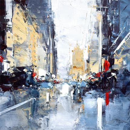 Daniel Castan Houston Street morning 25 x 25 cm