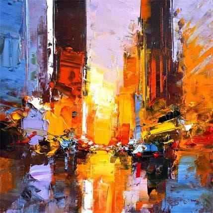 Daniel Castan Manhattanhenge 25 x 25 cm
