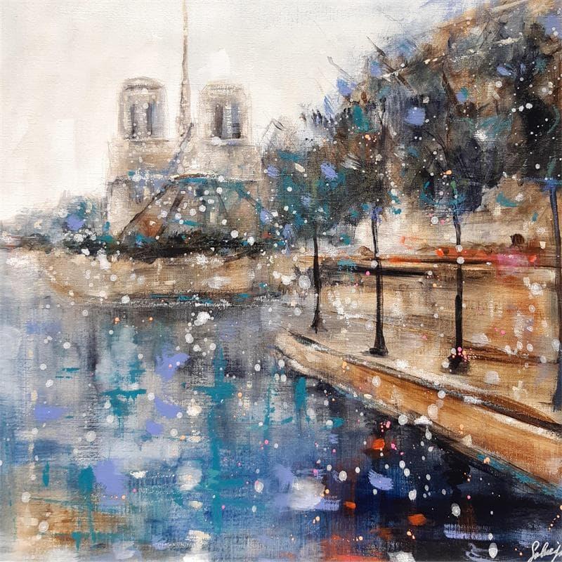La Seine bleue