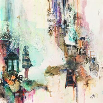 Marie-Josée Bergeron Be and enjoy 36 x 36 cm