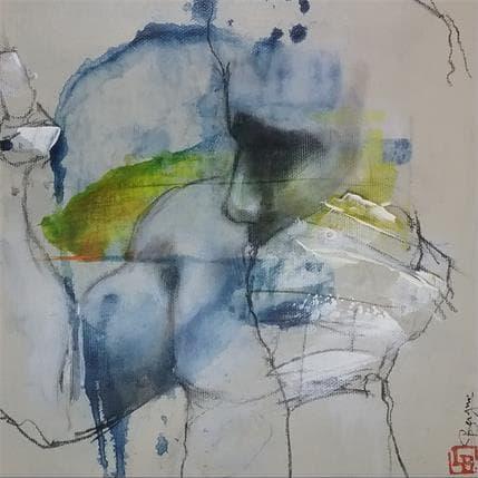 Laurent Bergues Envisager sur tâche 25 x 25 cm