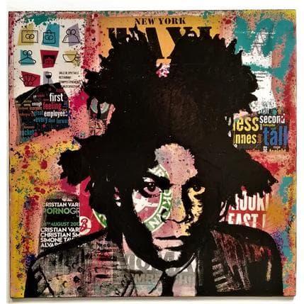 Kikayou Basquiat 36 x 36 cm