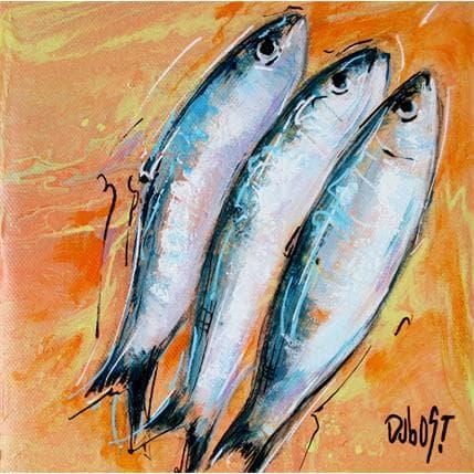 DUBOST Sardines 19 x 19 cm