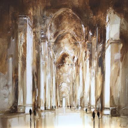 Richard Poumelin Sans titre Cathédrale 100 x 100 cm