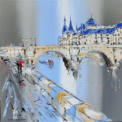 Patrick Rousseau Le pont neuf 50 x 50 cm