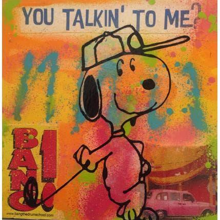 Kikayou Snoopy golf 25 x 25 cm