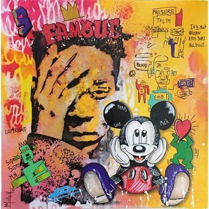Nathalie Molla Basquiat 36 x 36 cm