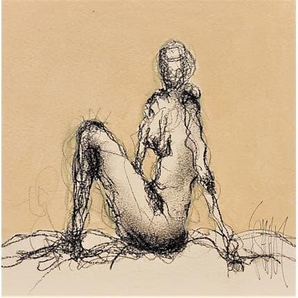 François Sahuc Sans titre 19 x 19 cm