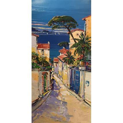 Liisa Corbière Ruelle à Marseille 40 x 80 cm