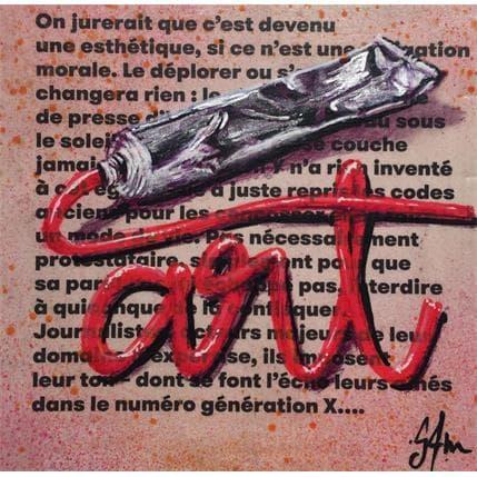 Sam Guillemot Art Paste 13 x 13 cm