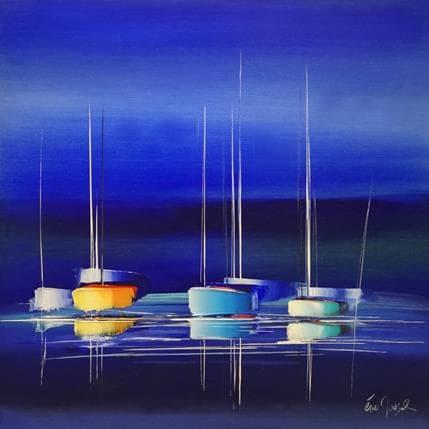 Munsch Eric A blue dream 80 x 80 cm