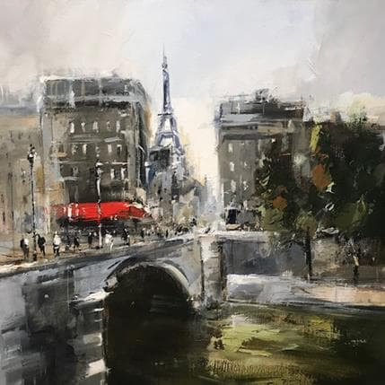 Richard Poumelin Paris 50 x 50 cm