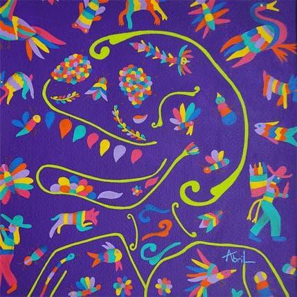 Espinoza Abril Y'ob'e-Amigo 25 x 25 cm