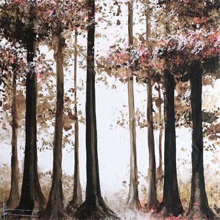 Alice Locoge La lisière de la forêt 19 x 19 cm
