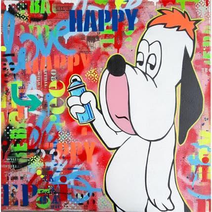 Philippe Euger Happy ! 50 x 50 cm