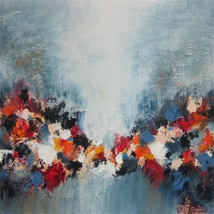 Perez Geneviève VOIES INTERIEURES 36 x 36 cm