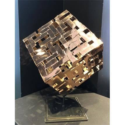 Frédéric Fortuné Le cube 30 x 40 x 42 cm