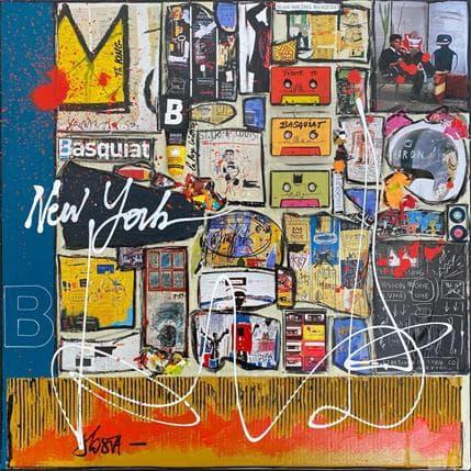 Costa Sophie B comme Basquiat 80 x 80 cm