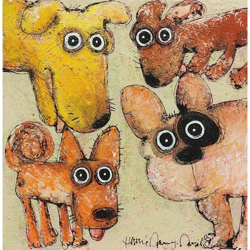 Quatuor de chiens