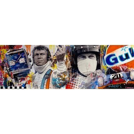 Novarino Fabien Le Mans Racing 120 x 40 cm
