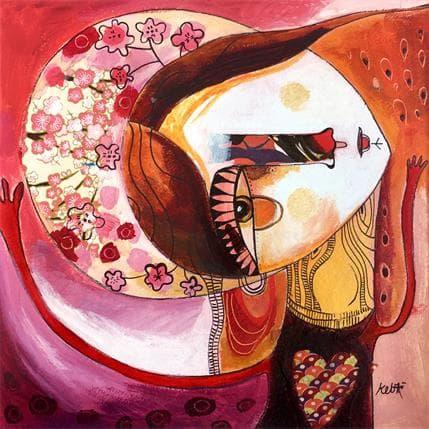 Laure Ketfa La roussette 25 x 25 cm