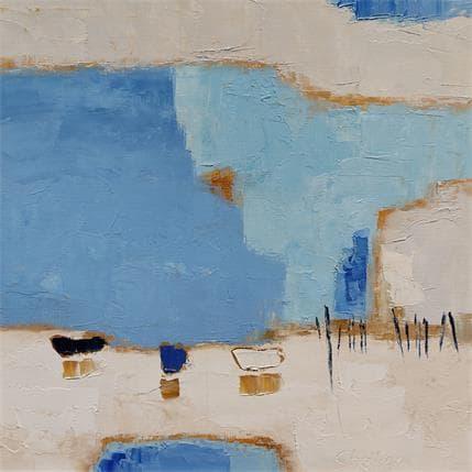 Shelley Les barques 36 x 36 cm