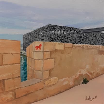 Julie Argall Mucem #5 25 x 25 cm