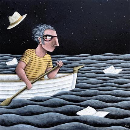Gemma Aguasca Sole I si no hi ha vent... 36 x 36 cm