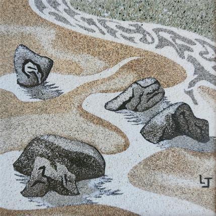 Laurence Jovys Sables et roches 13 x 13 cm