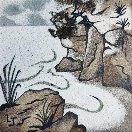 Laurence Jovys La falaise 13 x 13 cm