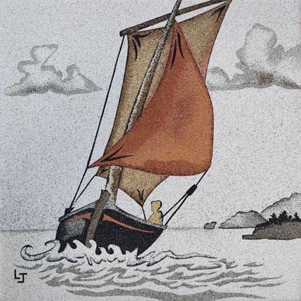 Laurence Jovys Vieux gréement 19 x 19 cm