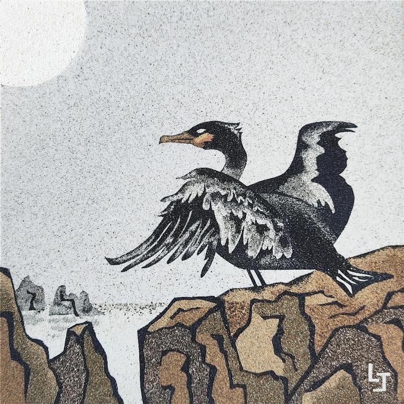 Le repos du cormoran