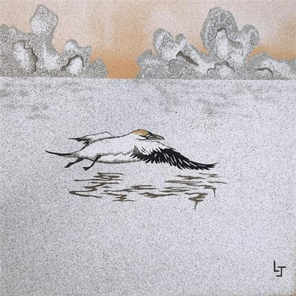 Laurence Jovys Fou de Bassan 25 x 25 cm