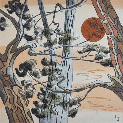 Laurence Jovys Reflets 36 x 36 cm
