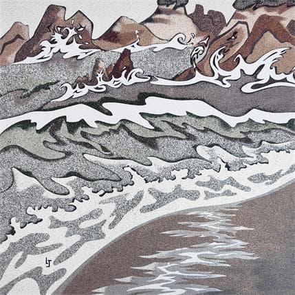 Laurence Jovys Vagues 36 x 36 cm