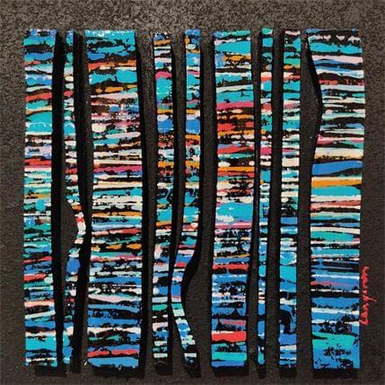 Langeron Luc BC9 Fine bleu vert rouge 19 x 19 cm