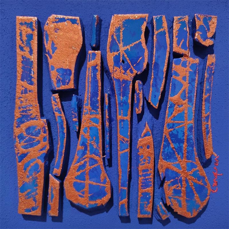 BC10 Forme cuivre bleu Klein