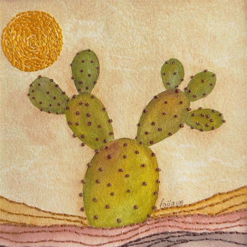 A happy cactus