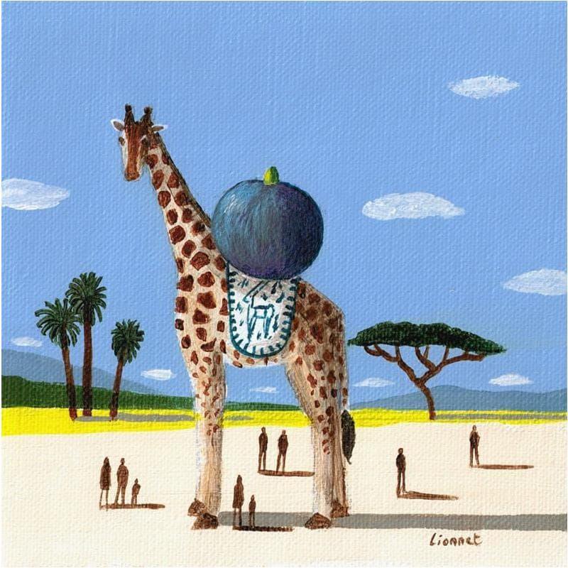 Girafe et figue