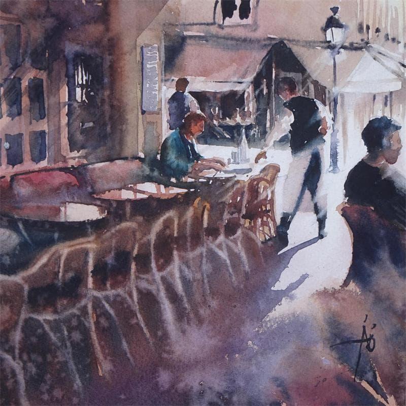 Sa pause au Café de l'isle