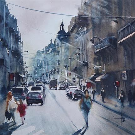 Abbatucci Violaine Matinée parisienne 25 x 25 cm