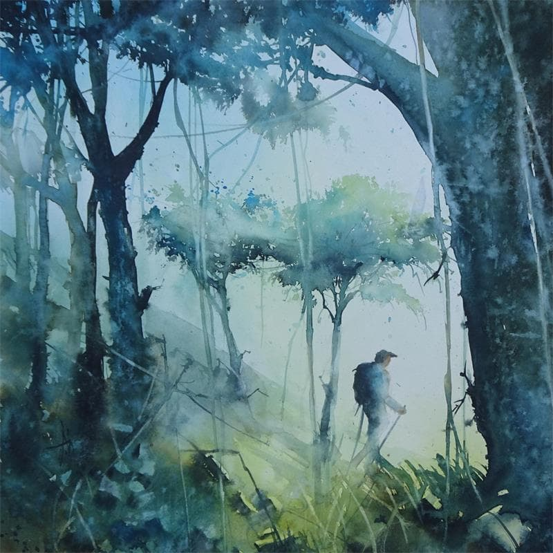 Imaginez-vous dans la forêt