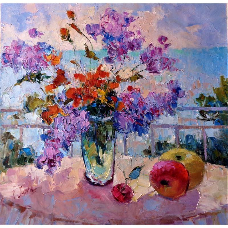 Flores en el jarron