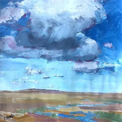 Cindy Carrillo Bring on monsoon 25 x 25 cm