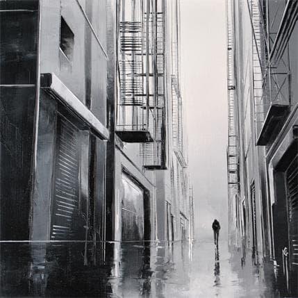 Maurizio Galloro Cheminement solitaire 25 x 25 cm