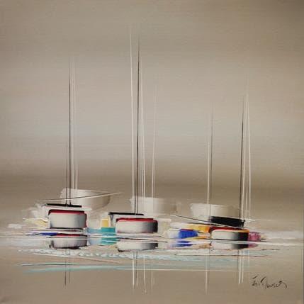 Eric Munsch l'instant magique 100 x 100 cm
