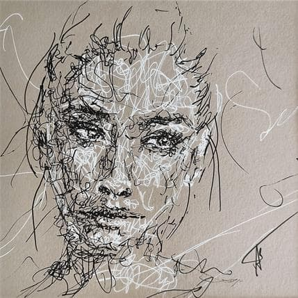 Sébastien Allart Rose 19 x 19 cm