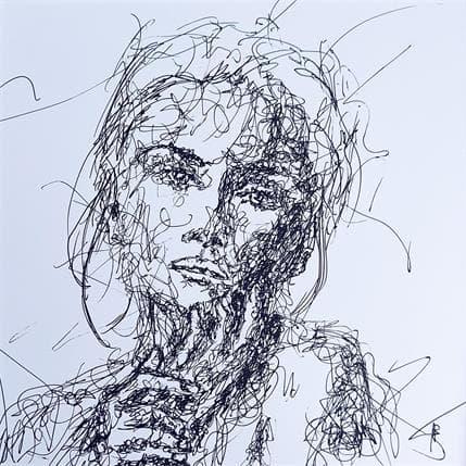 Sébastien Allart Maeva 25 x 25 cm