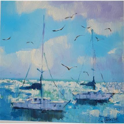 Tatiana Jmara La mar 25 x 25 cm